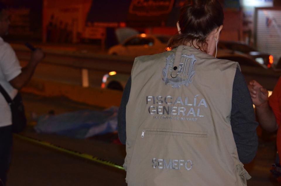 Indigente es atropellado y muere en Nuevo Vallarta