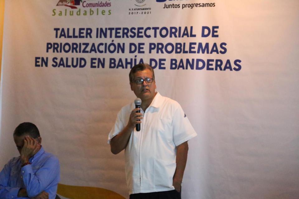 """Impulsa Jaime Cuevas certificación de Bahía de Banderas como """"Municipio Promotor de la Salud"""""""
