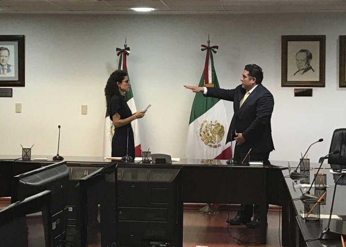 Toma Protesta Alberto Ortiz Bolaños, como Director General del INFONACOT