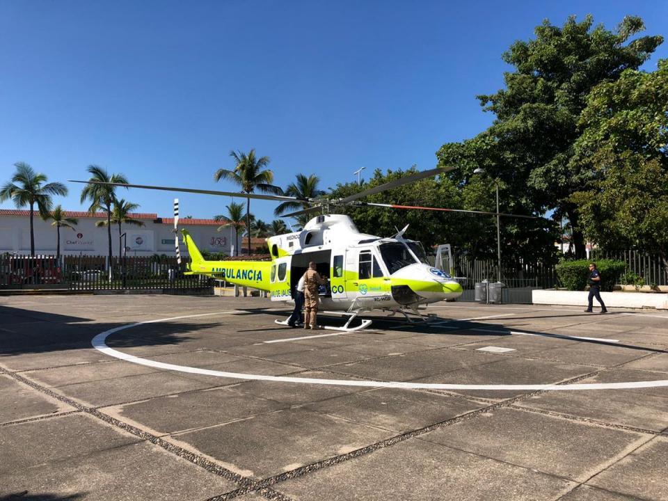 Dos servicios para Puerto Vallarta en la Primera Semana de Operación de helicóptero medicalizado SAMU