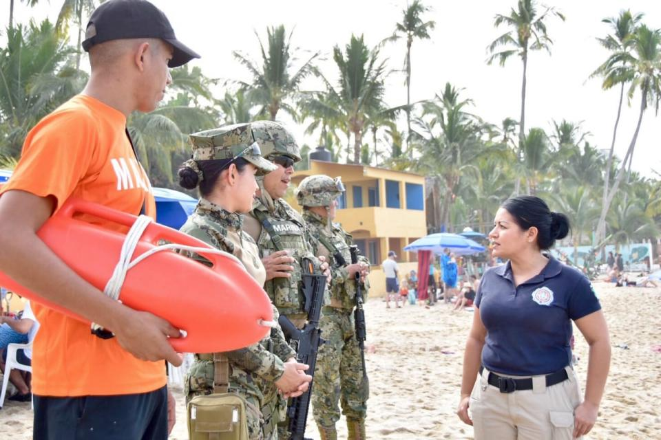 Recomienda PCyB Extremar Precauciones a turistas y locales en playas