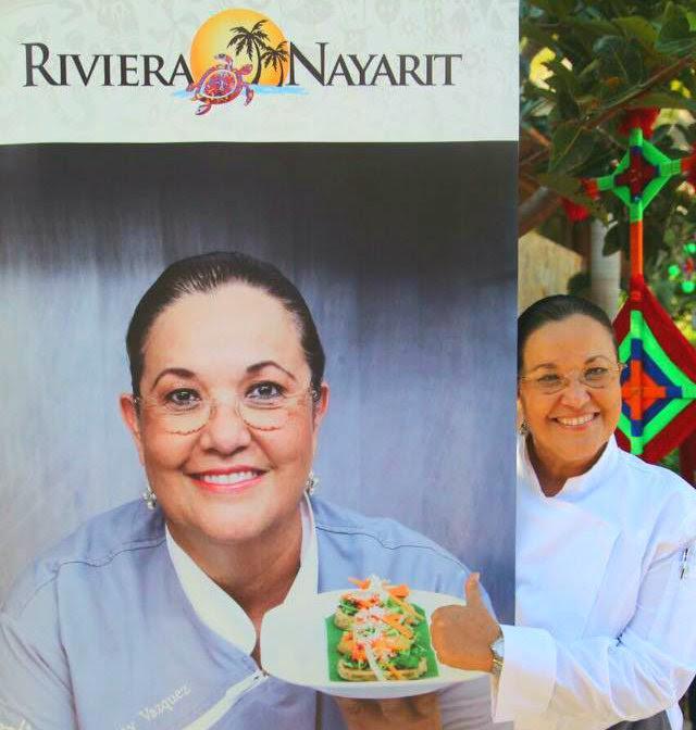 """Chef Betty Vázquez lleva el """"sabor a mar"""" de Riviera Nayarit por el mundo"""