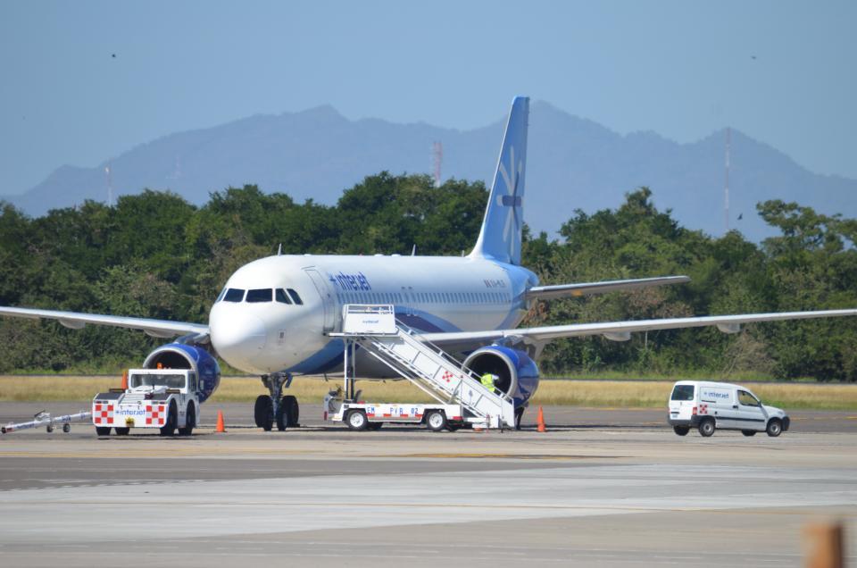 Avión choca con ave y aterriza de emergencia