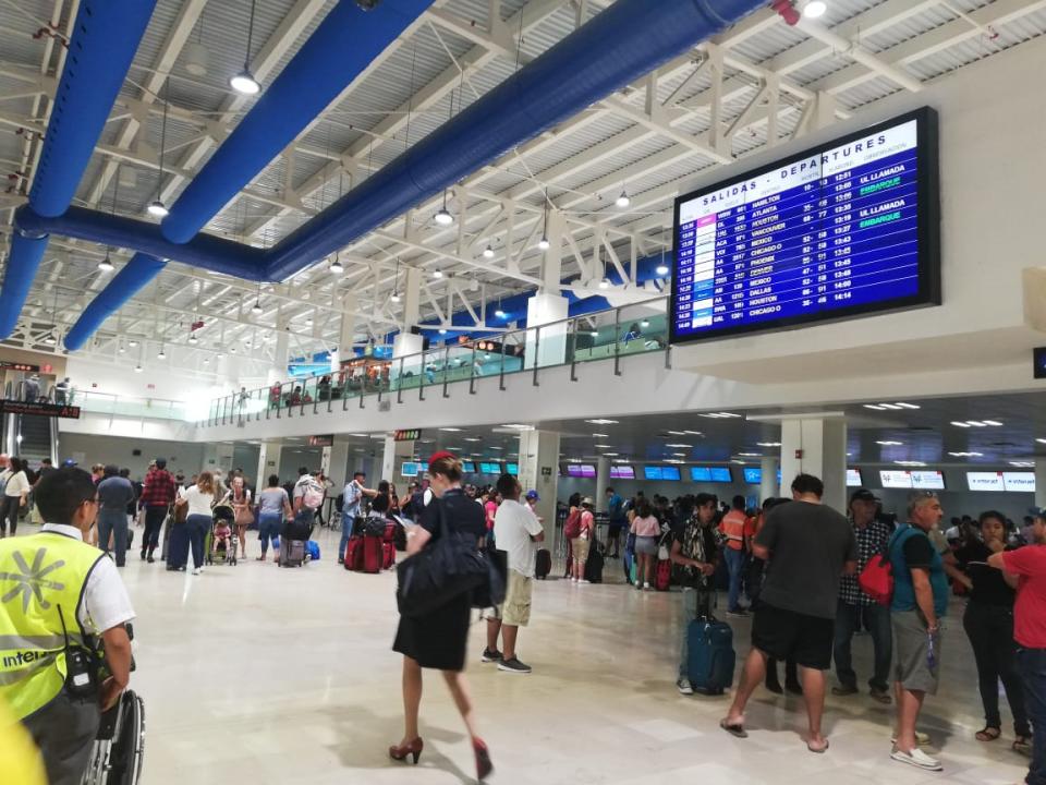 Rebasa aeropuerto de PV  tráfico de pasajeros del 2017