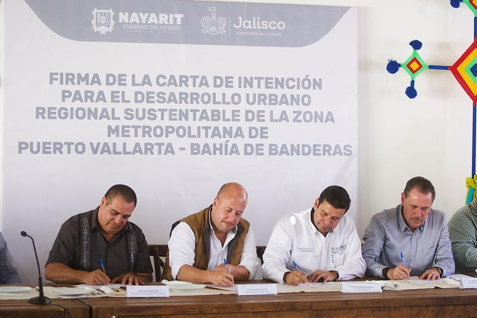Jalisco y Nayarit firman creación de Instituto Metropolitano