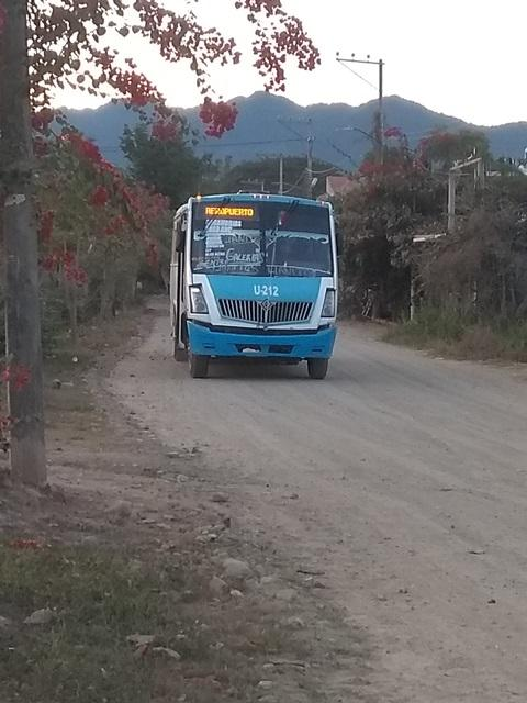 Regresa el transporte  público a Los Llanitos
