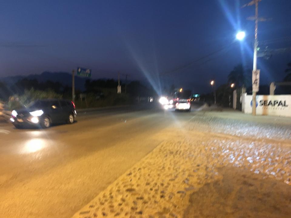 Raparan luminarias  en parque Las Palmas