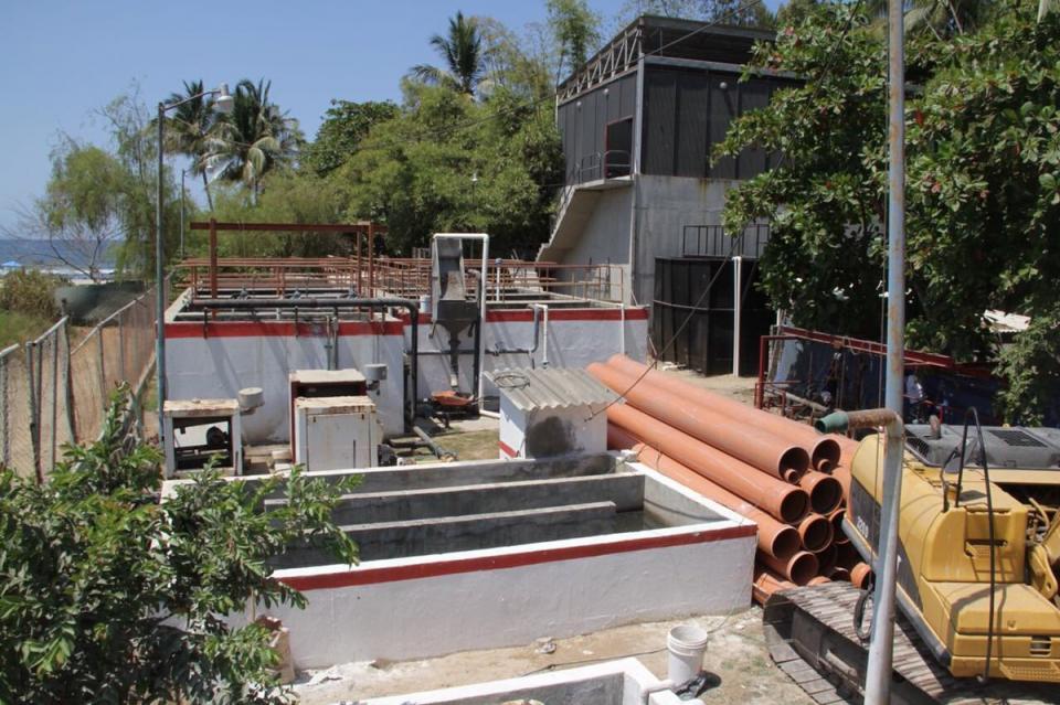 Remodelación de la planta de tratamiento de Sayulita está al 70%: José Mercado