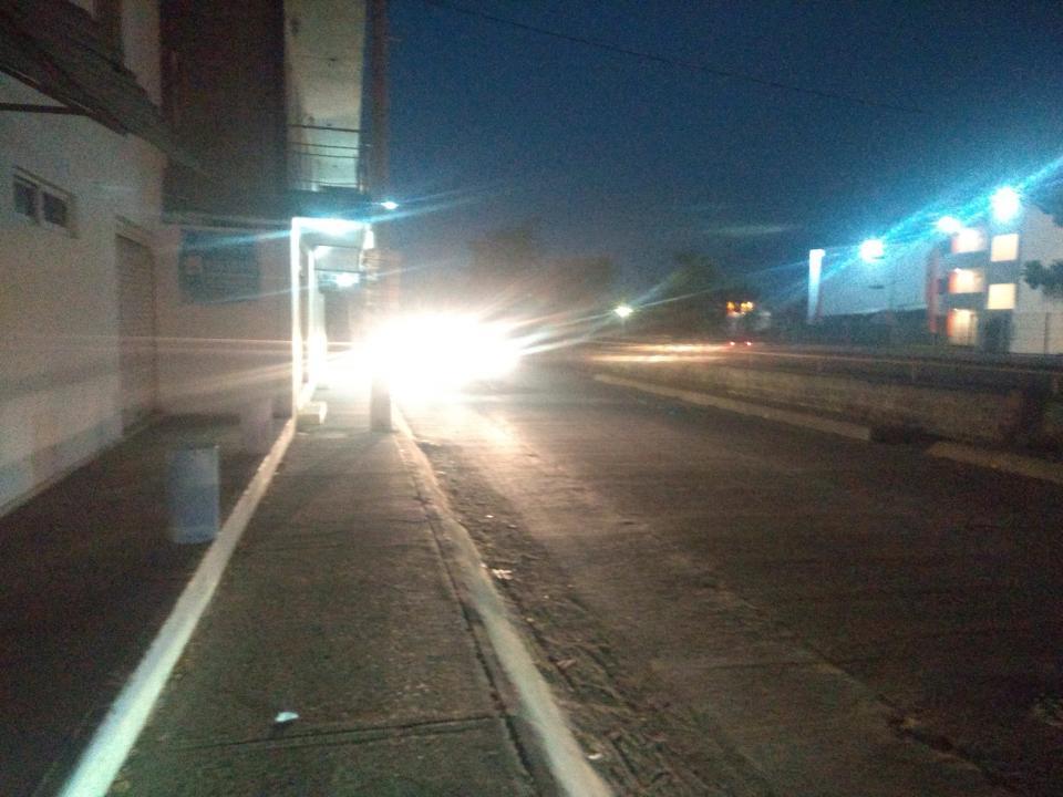 Sufren con avenidas oscuras y conflictivas