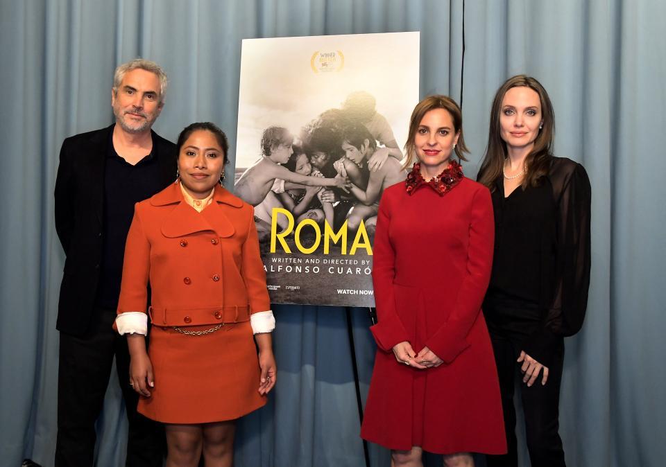 Gana Alfonso Cuarón dos Globos de Oro con Roma