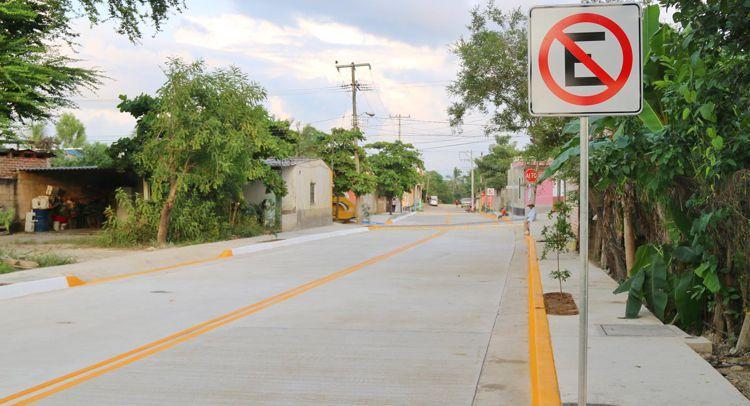 Inician balizamiento de  vialidades del municipio