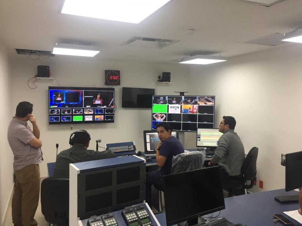 ¡Al Aire!.. TV Mar en La Paz