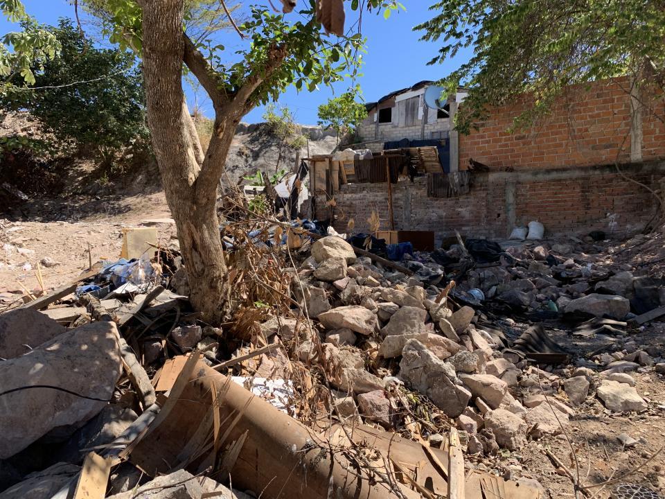 De hogares a basurero: Cartolandia