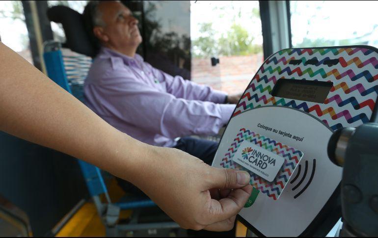 Sin abasto para tarjetas de  prepago del transporte público