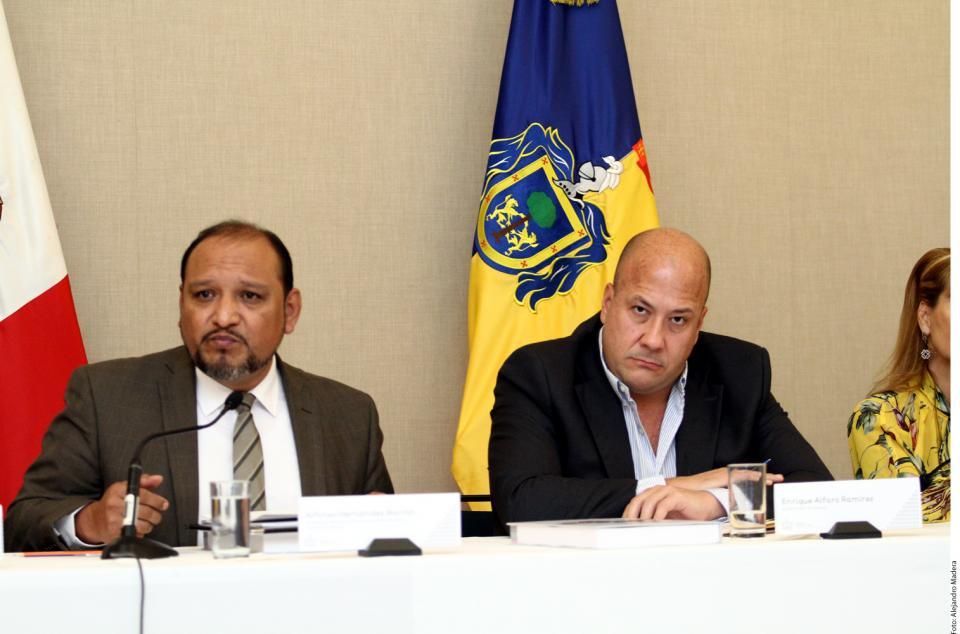 Presenta Ombudsman informe y  decálogo al gobernador Alfaro