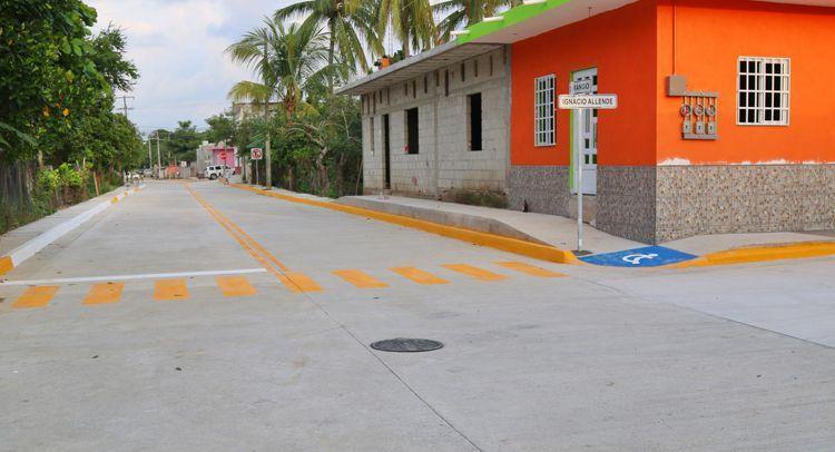 Realiza tránsito balizamiento en las vialidades de Bahía