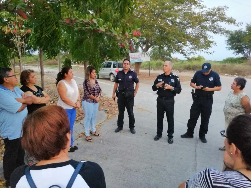Instalarán Academia de Policía en Valle Dorado