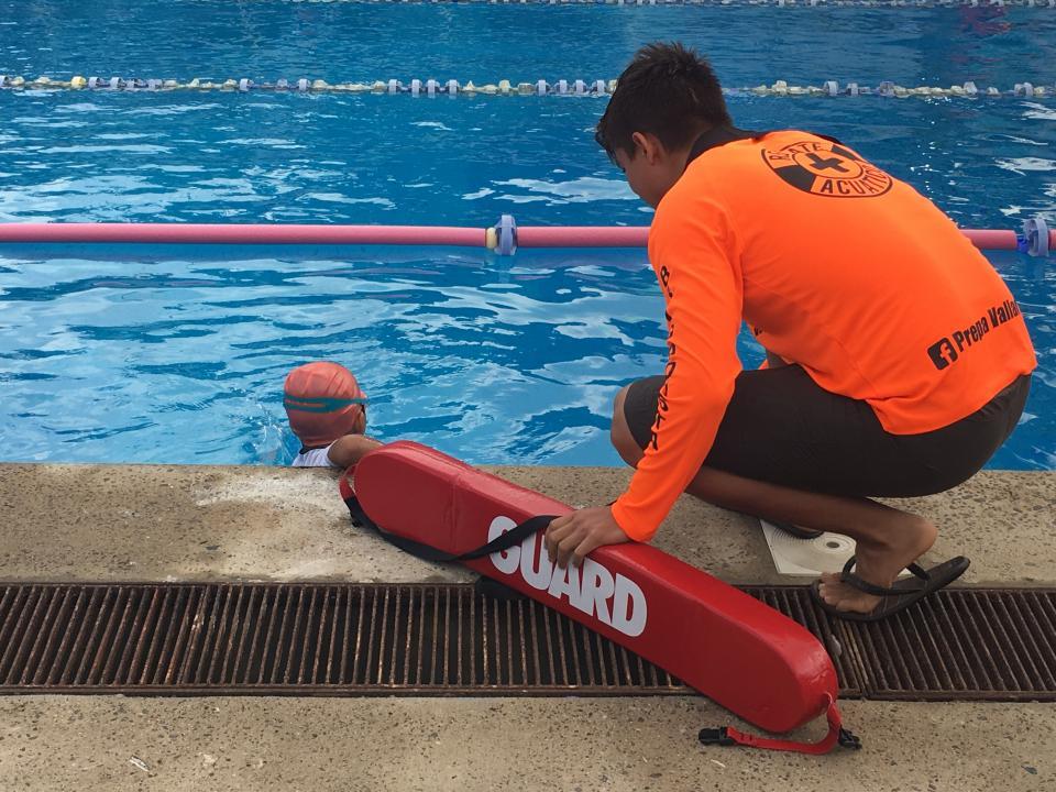 En la Preparatoria Regional de la U de G Se llevo a cabo el serial infantil de natación