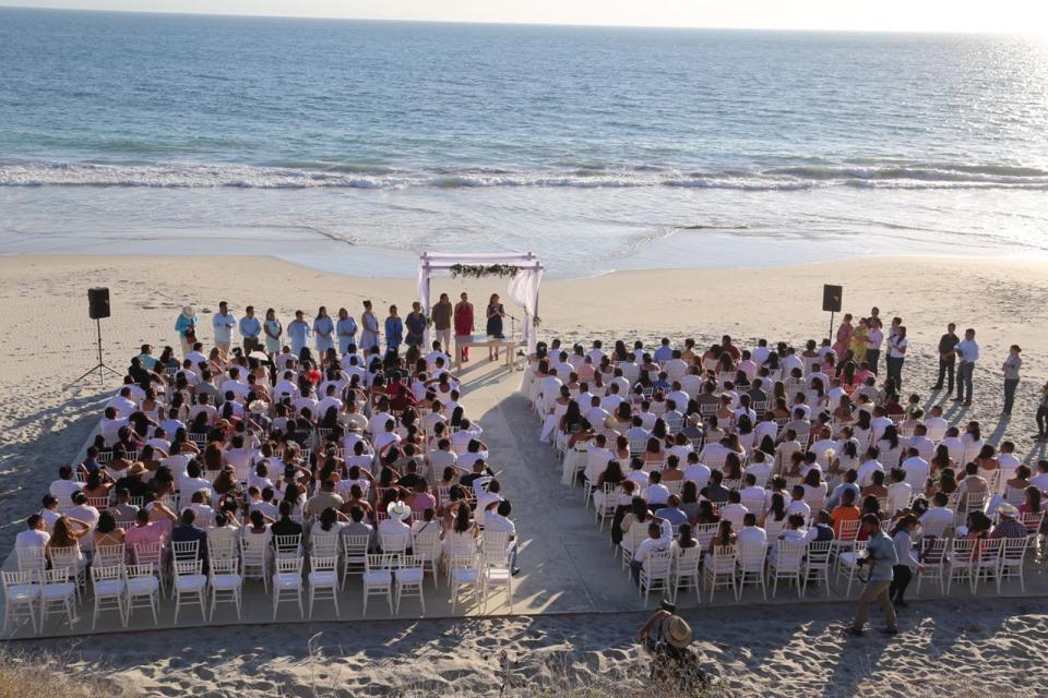 Celebran 153 parejas su Matrimonio Civil en Bahía