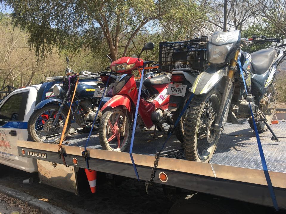 En dos días detuvieron 83 motosen operativos de Policía Vial