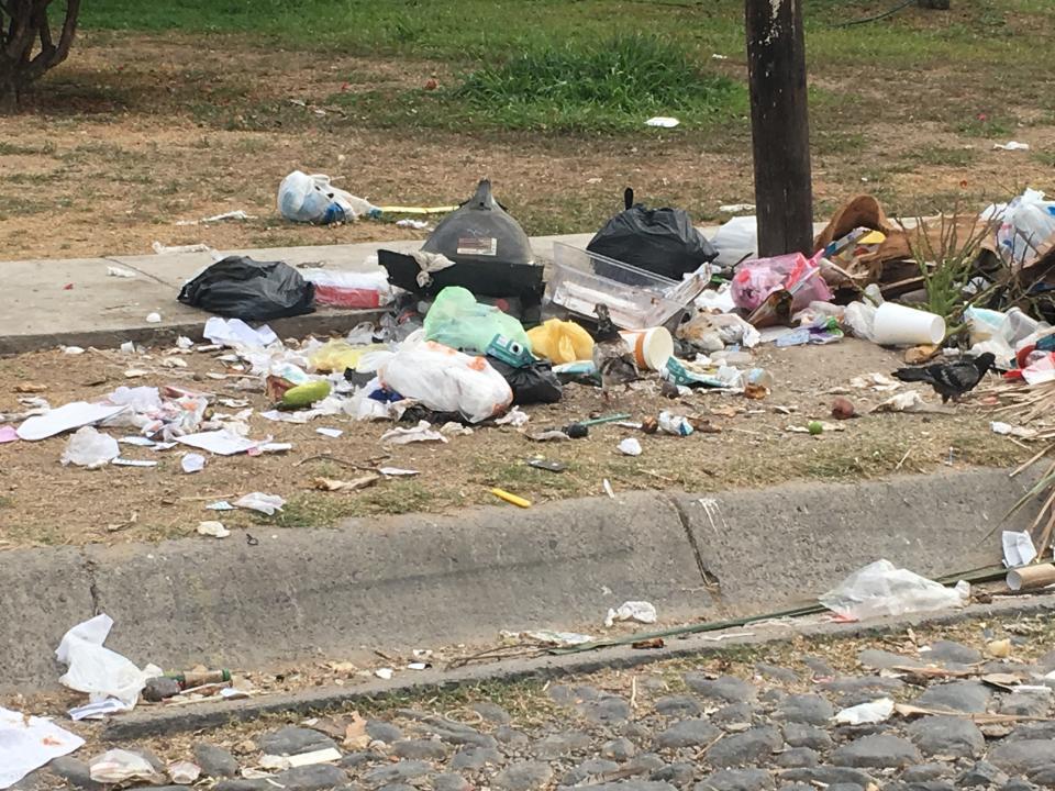 Se quejan que no se respetahorario para sacar la basura
