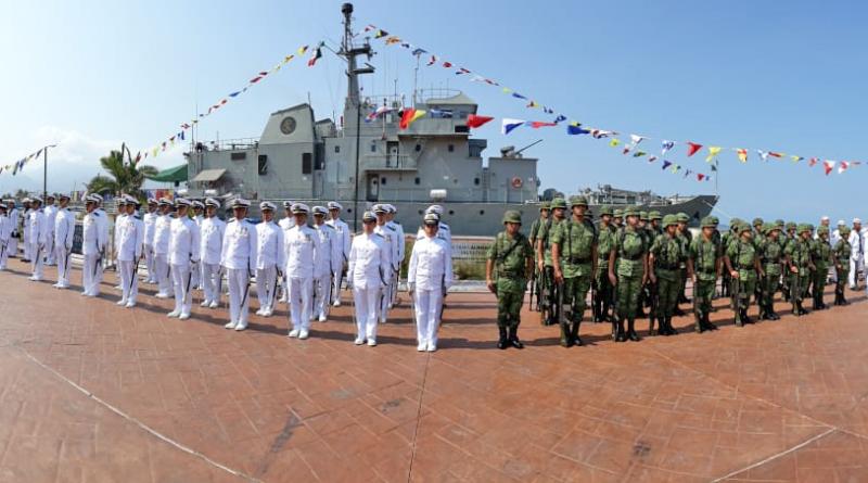 Se preparan autoridades para lacelebración del Día de la Marina