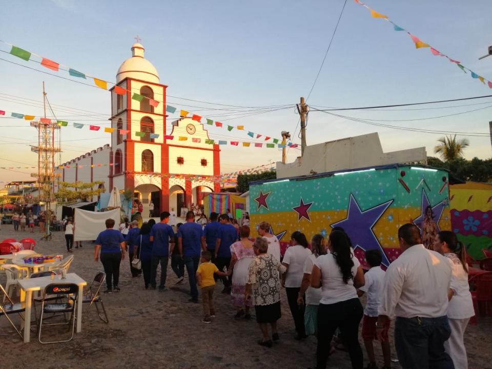 En su apogeo, las tradicionalesfiestas patronales en Las Palmas