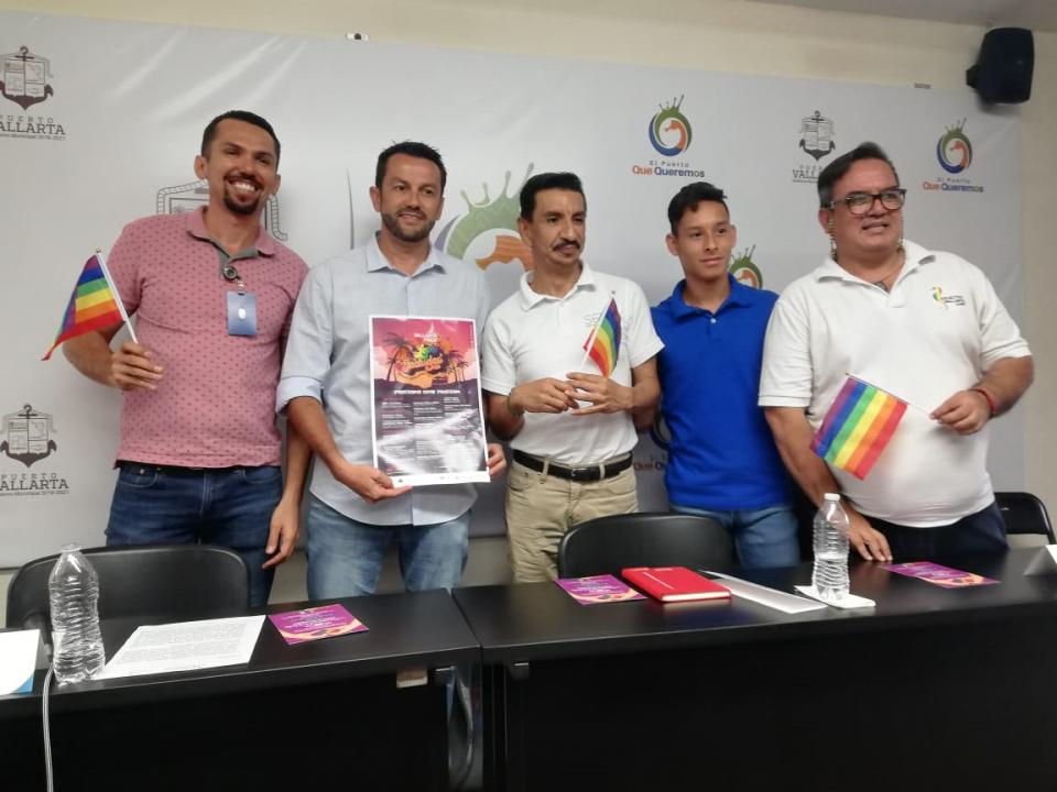 Más de 20 mil asistentes seesperan en Vallarta Pride 2019