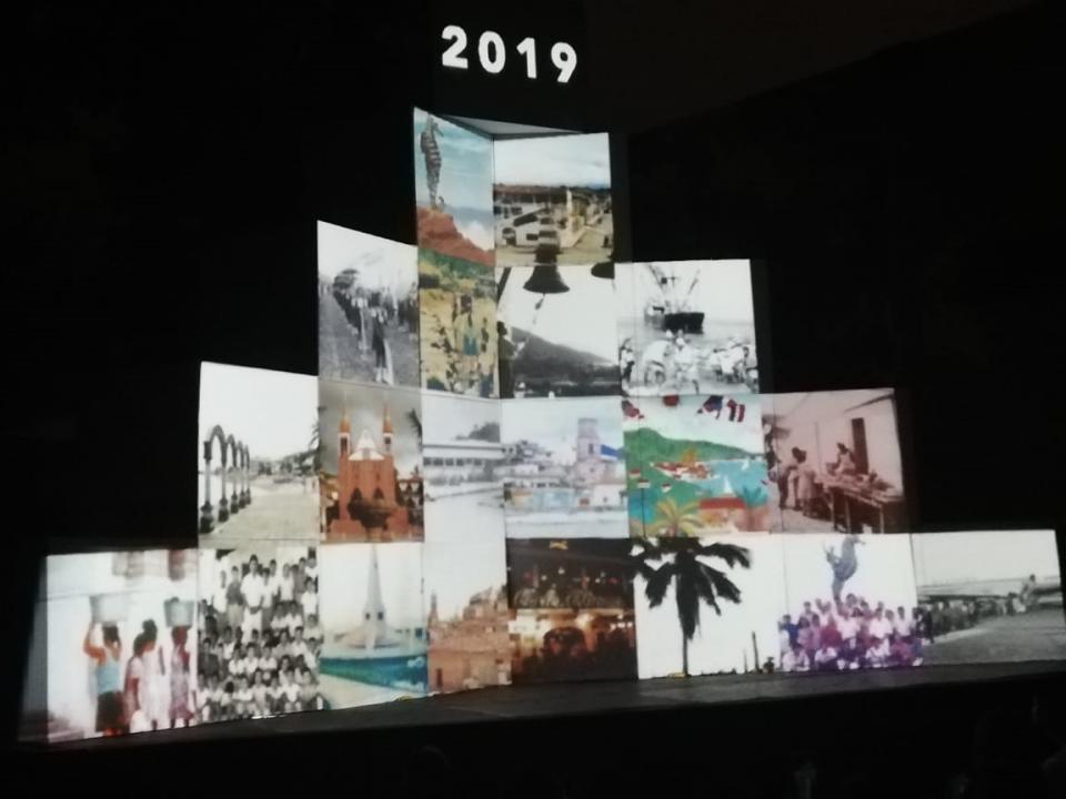 Espectáculo audiovisual por aniversario de PV
