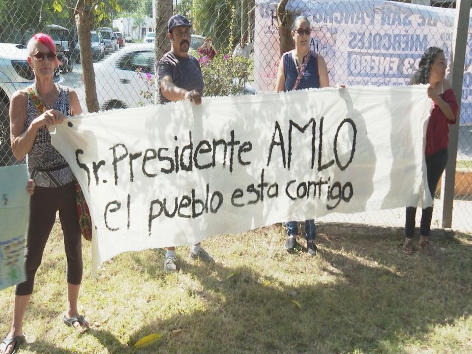 Harán acto de presencia colectivos deSan Pancho en próxima visita de AMLO