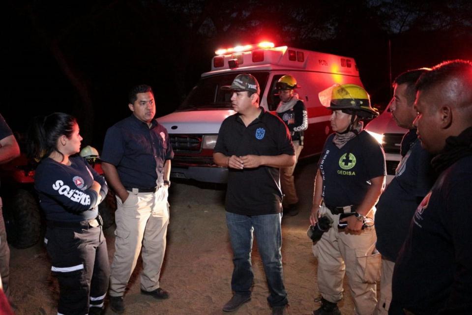 Atiende PC Bahía incendiosforestales y activa brigadas