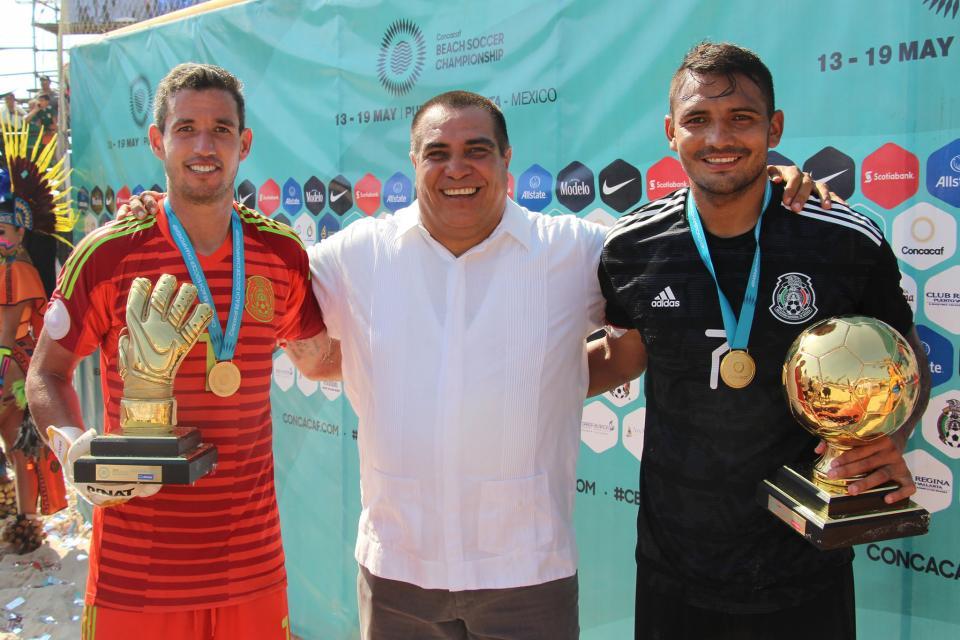 Un éxito para PV el Campeonato Concacaf de fútbol de playa