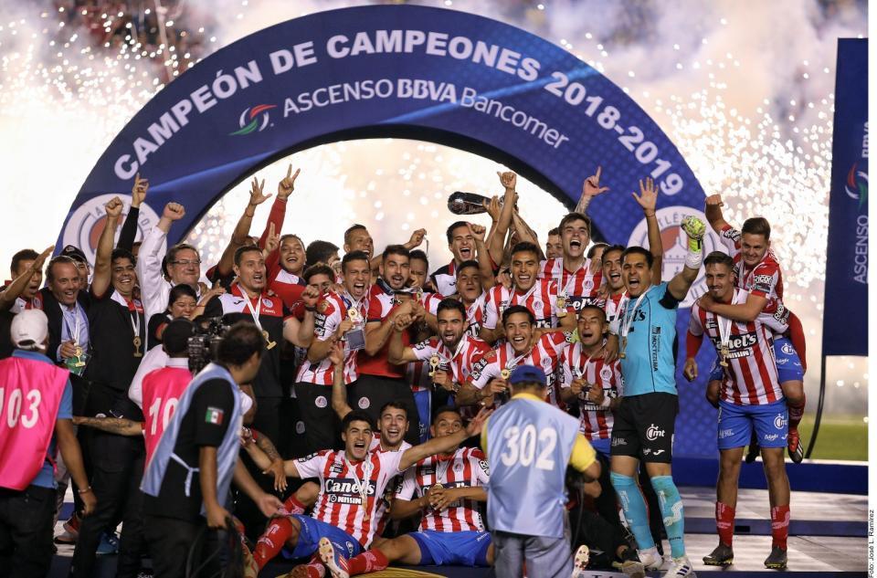 San Luis repite dosisy sube a la Liga MX
