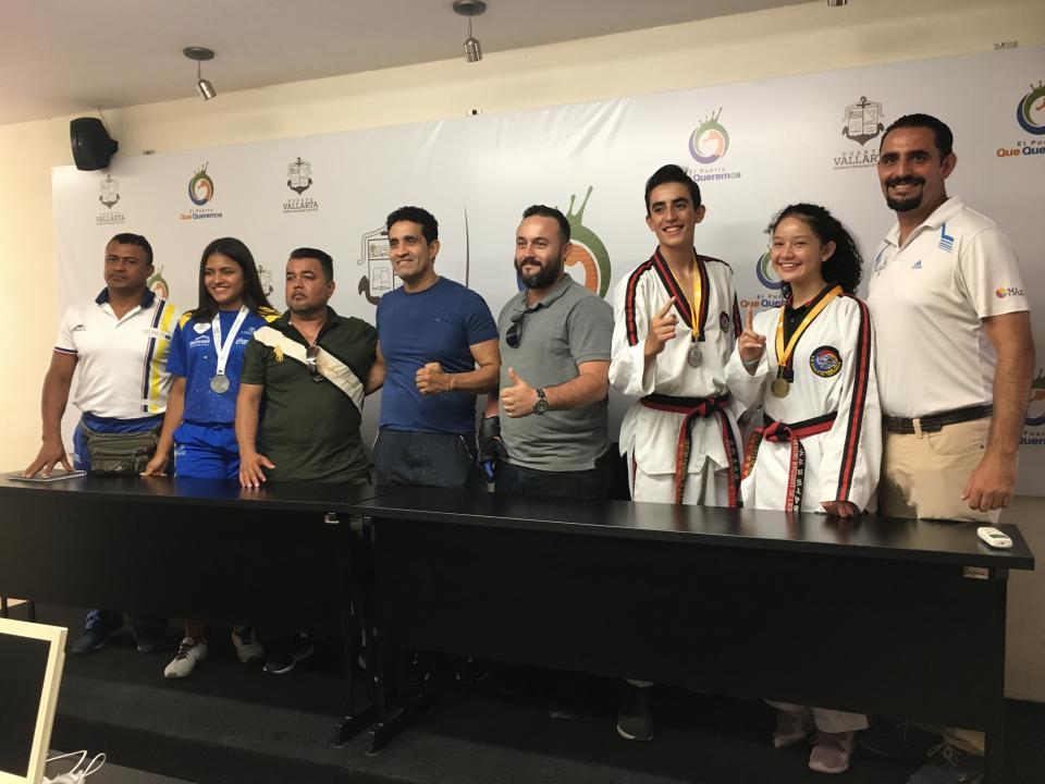 Campeones en TKD seleccionadospara Juegos Nacionales CONDEBA