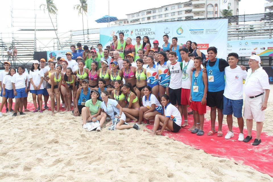 Gran final del Abiertode Voleibol de Playa