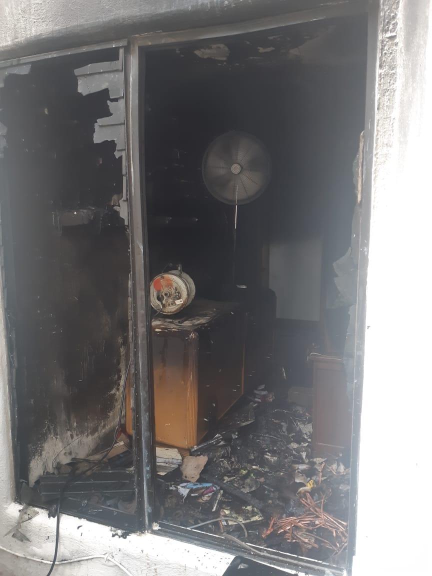 Incendio en hotel deMarina Vallarta