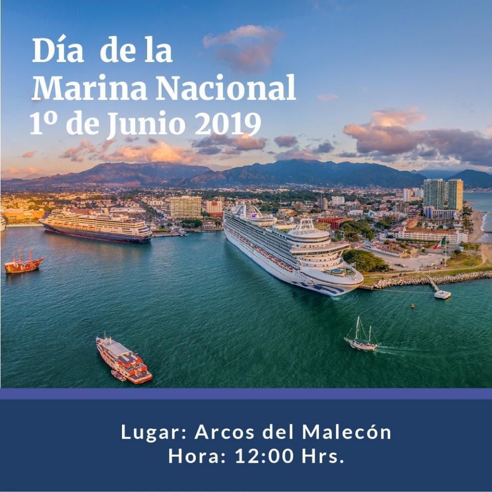 """Todo listo para la celebración del Día de la Marina en Puerto Vallarta"""""""