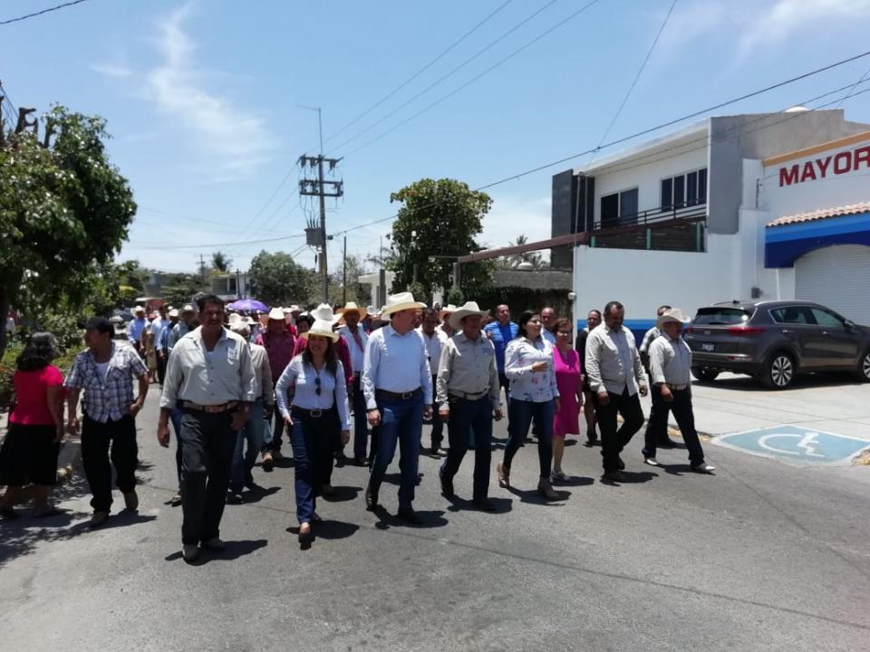 Celebran  82 Aniversario del ejido de San José del Valle