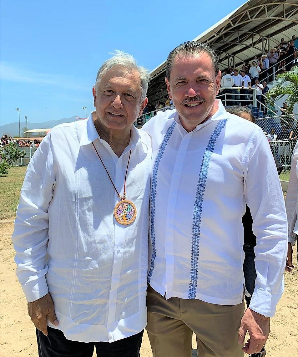 Seguiremos trabajando en equipo con el Presidente y el Gobernador: Jaime Cuevas