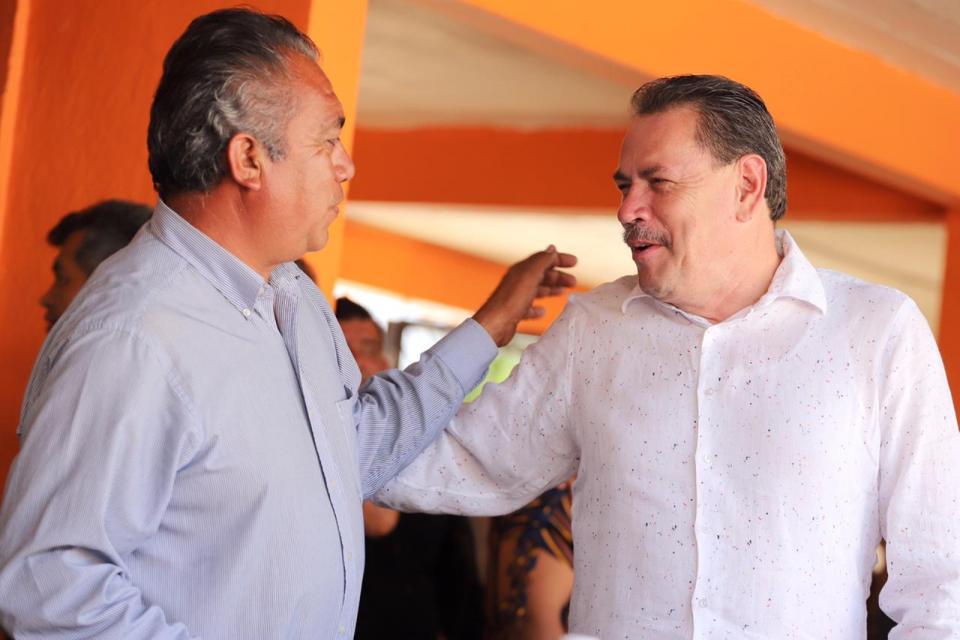 Refrenda compromiso Jaime Cuevas con productores del campo