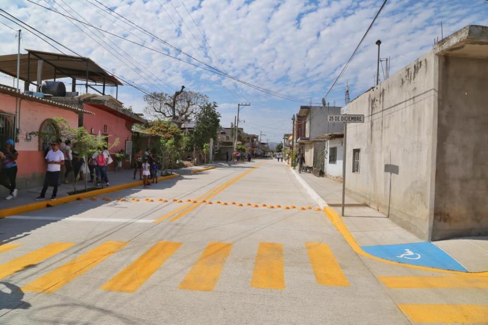 Obras en El Porvenir cambian la vida de las familias: Jaime Cuevas