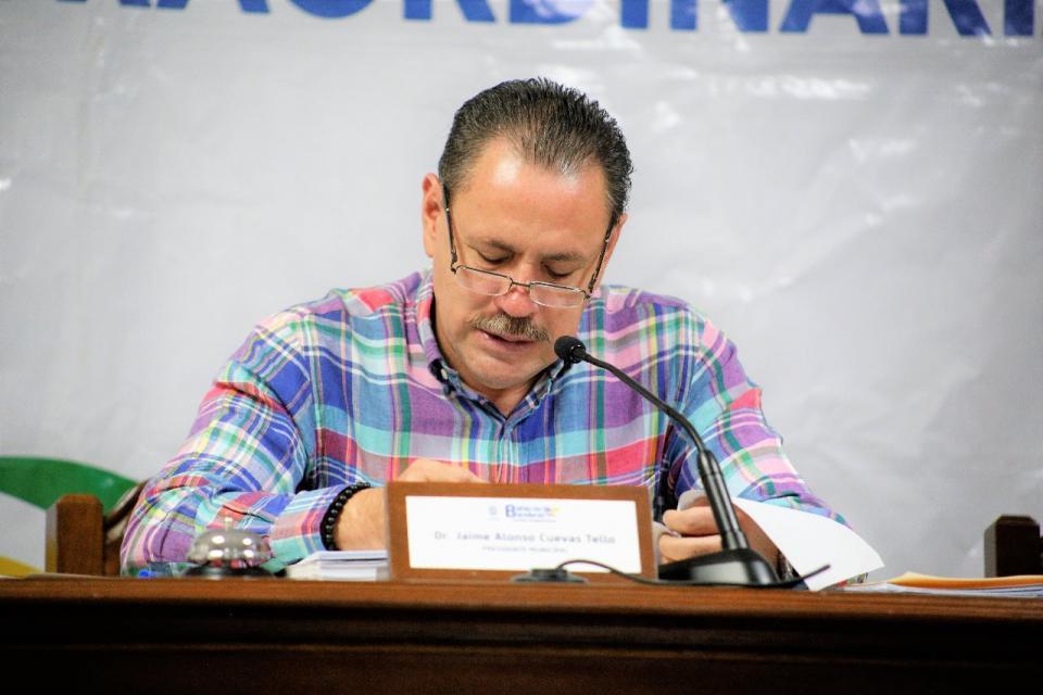 Transparenta Jaime Cuevas Situación del edificio de la Presidencia Municipal