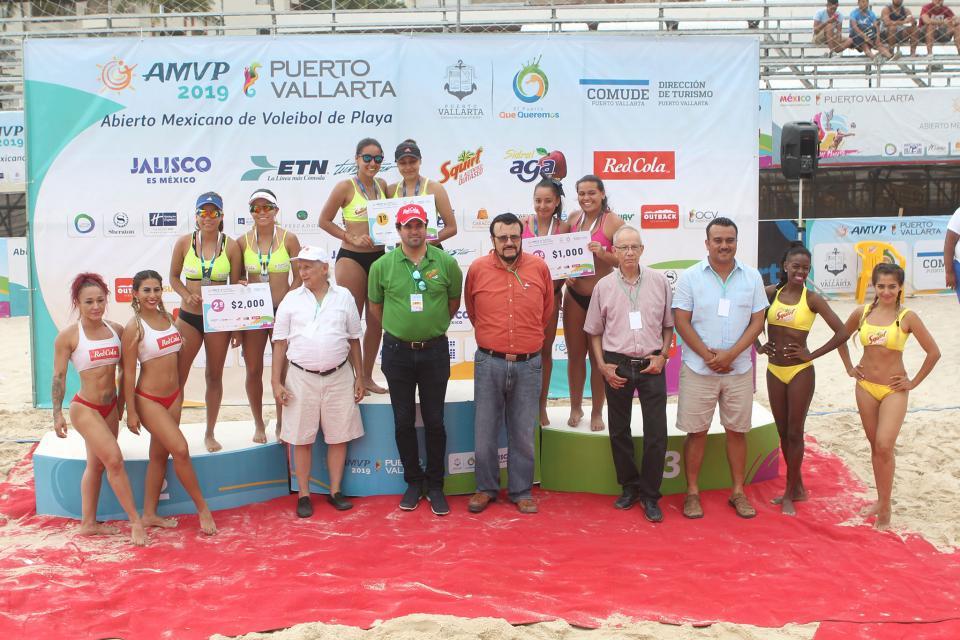 Gran final del Abierto Mexicano de Voleibol de Playa