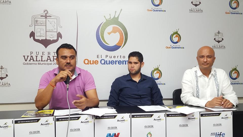 Preparan la cuarta edición del Acuatlón Vallarta 2019