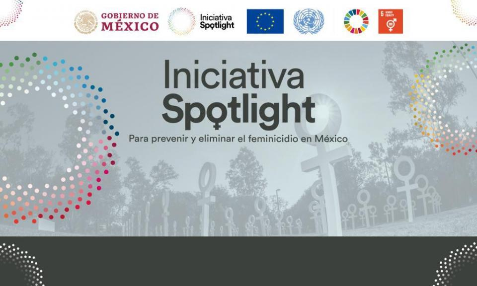 """Lanzan ONU y México la campaña """"Spotlight"""" a favor de las mujeres"""