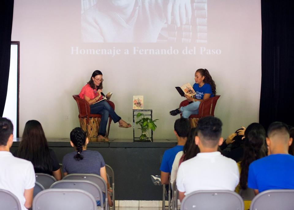 Maratón de lectura en voz alta en homenaje a Fernando del Paso