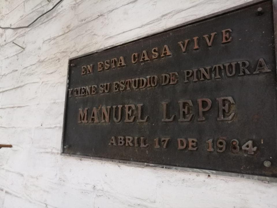 En venta la Casa-Museodel pintor Manuel Lepe