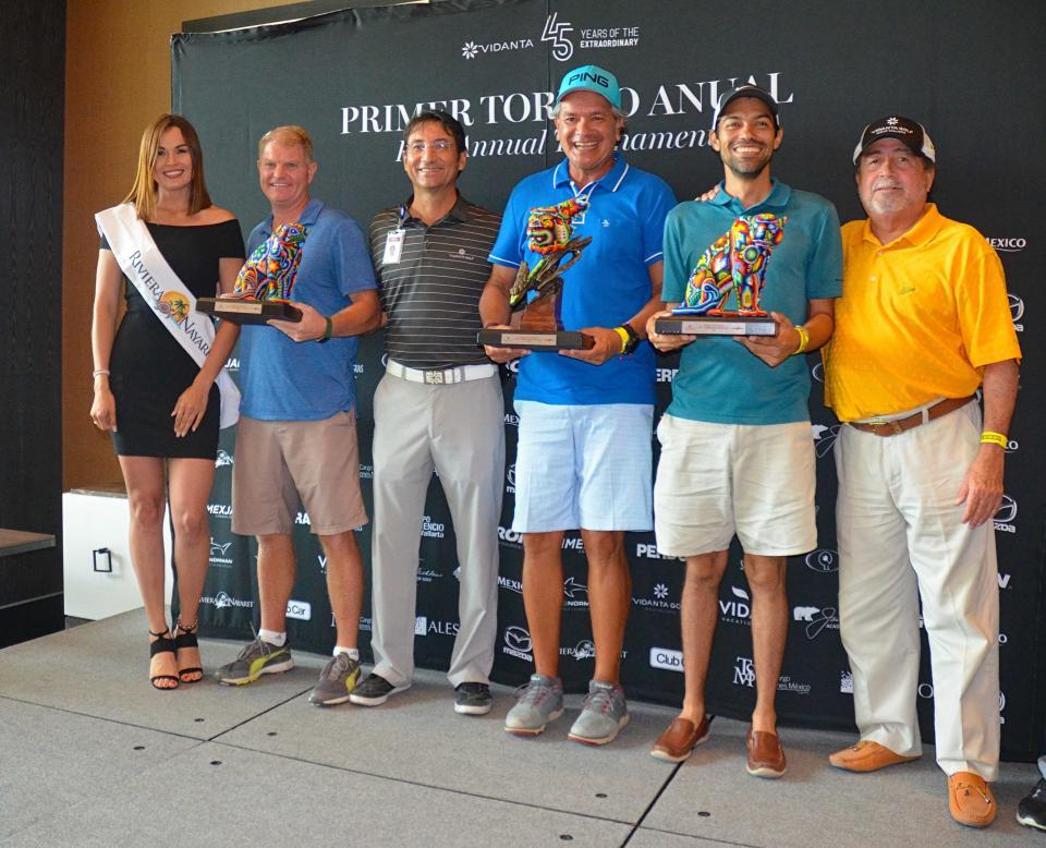 Un éxito el 1er. Torneo Anual de Golf Vidanta Nuevo Vallarta
