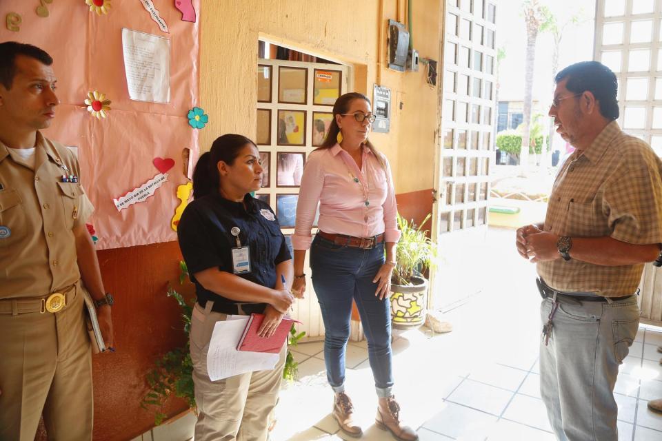 Supervisan Refugios Temporales para temporada de Huracanes 2019