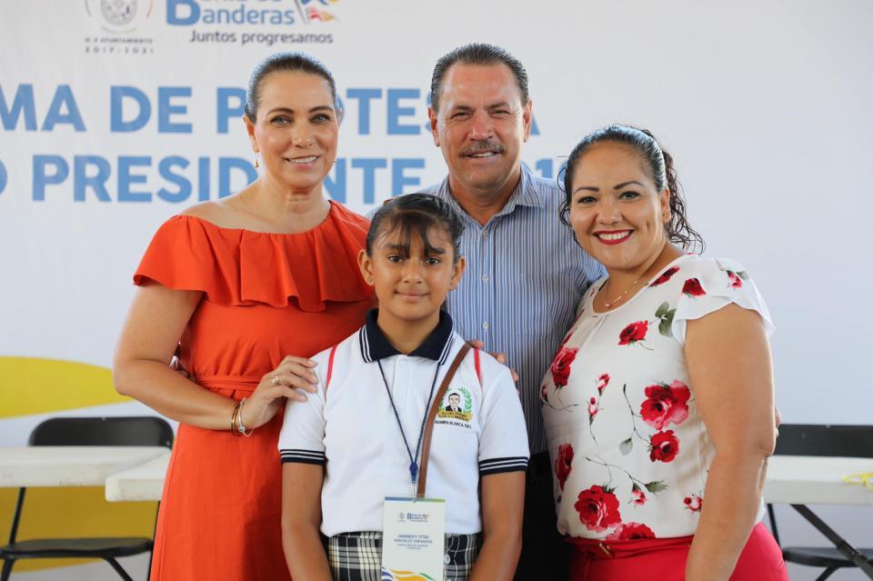 Toman protesta Cabildo y Gabinete Infantil de Bahía de Banderas 2019